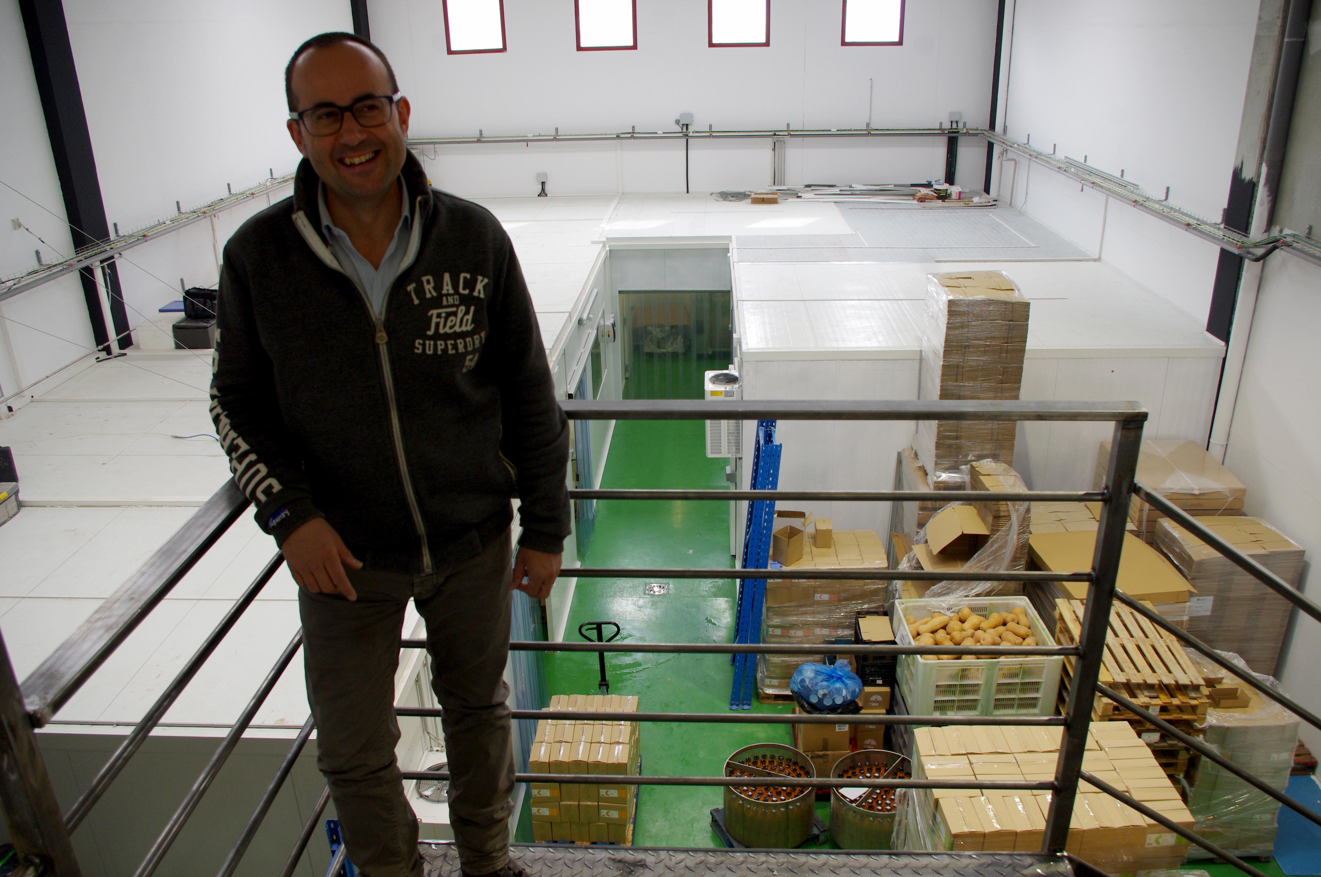 Casa Amella inverteix mig milió d'euros en el seu trasllat de la planta de Moià a Artés