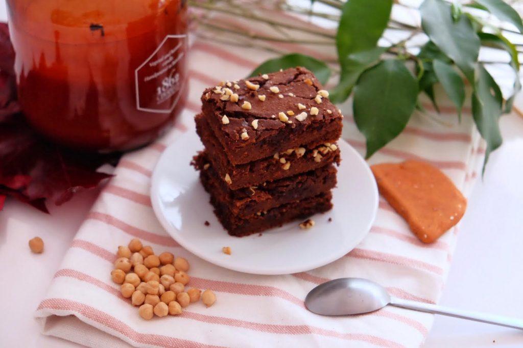 Brownie de xocolata i cigrons
