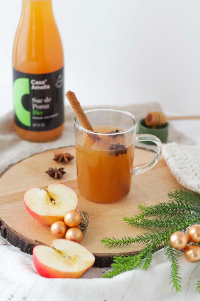 Suc de poma calent amb espècies Nadalenques